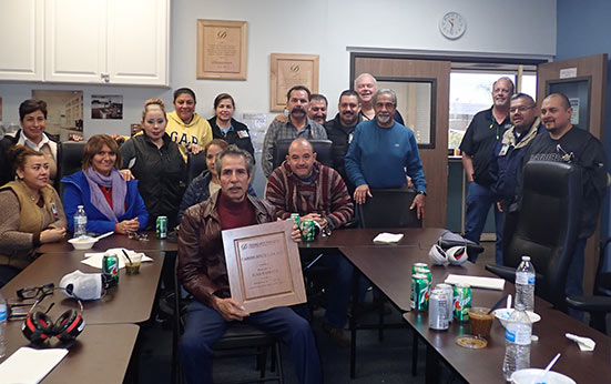 Celebrating Milestones: Juan Barboza-Romero Retired After 23 Years!