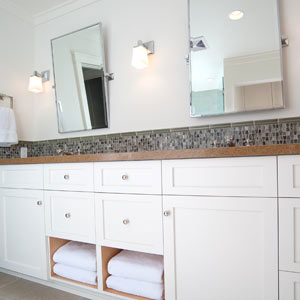 A Modern Craftsman: Kid's Bathroom