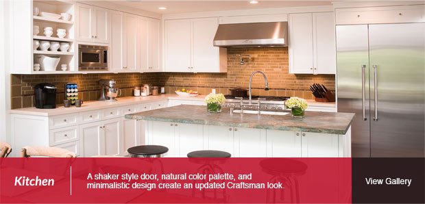 A Modern Craftsman: Kitchen