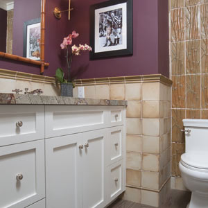 A Modern Craftsman: Powder Room