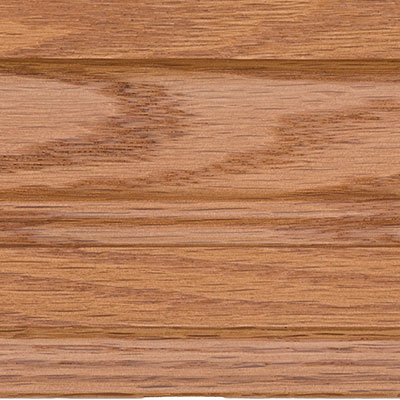 Topaz on Red Oak Finish Grade