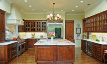 "Bel Air 3/4"" (581) Kitchen with French Lite Doors - 10150"