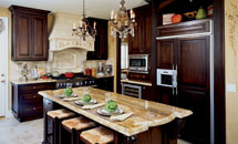 "Tuscany 3/4"" (590) Kitchen in Alder - 10116"