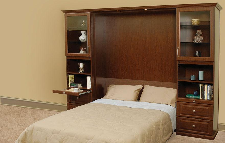 "Transform a Murphy Bed with a versatile JR7 3/4"" (727) Door."