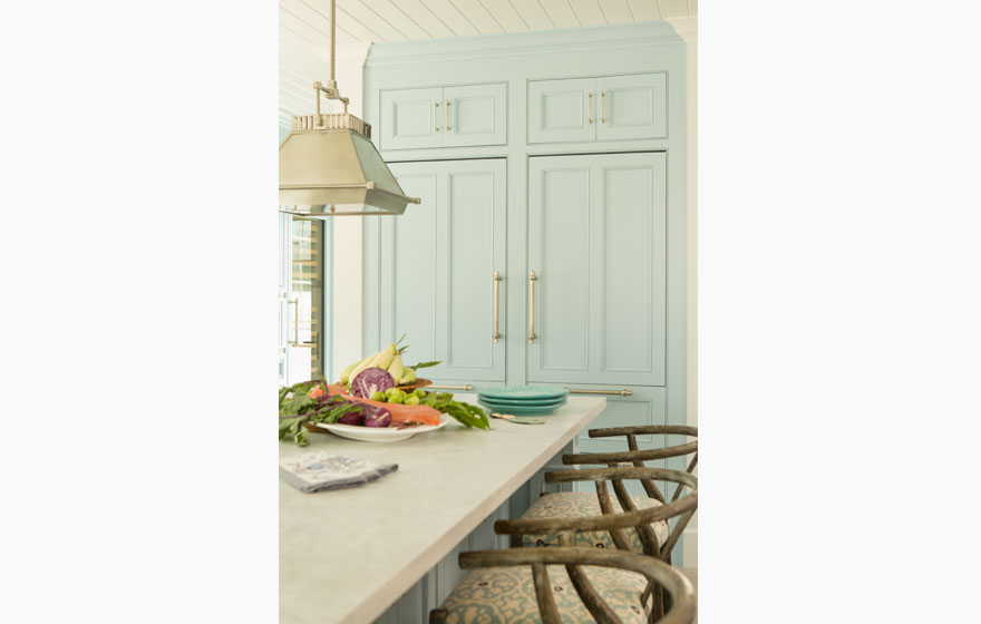 "Lighten the look of any room with fresh, airy blue paint on Laguna 3/4"" (853) Doors."