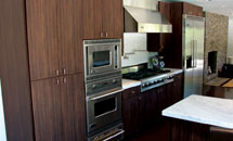 "Aries 3/4"" (93) Kitchen in Quartered Macassar Ebony - 10157"