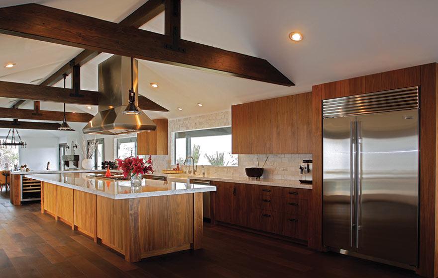 Walnut Veneer Kitchen | Cabinet Door Gallery | Decore.com