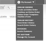 Anytime®  Online Account Management