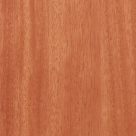 African Mahogany Ribbon Grain Finish Grade