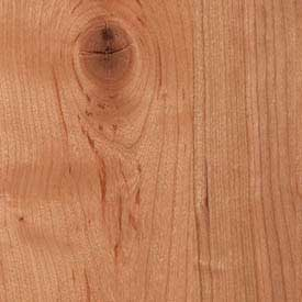 Cherry Rustic Knotty Finish Grade