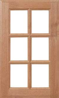"Square 3/4"" French Lite Door"