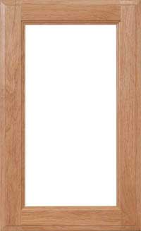 "Square 3/4"" Glass Door"
