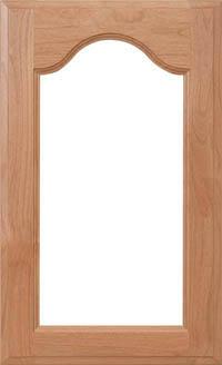 "Cathedral 3/4"" Glass Door"
