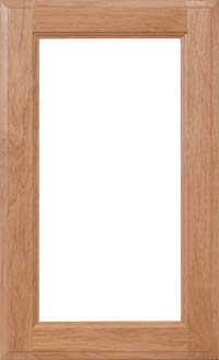 """Square 3/4"""" Recessed Glass Door"""