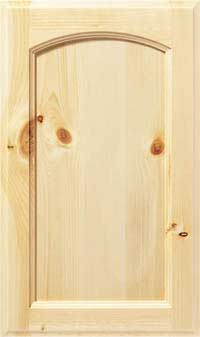 "Soft Arch 3/4"" Recessed Door"