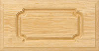"""Flat Arch 3/4"""" Routed Drawer Front"""