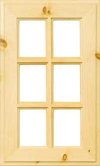 """Ranchero 7/8"""" French Lite Door"""