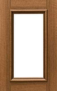 "Zuccaro 3/4"" Glass Door"