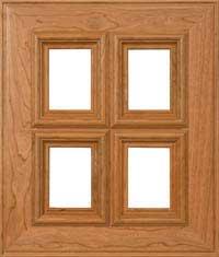 """Charleston 3/4"""" French Lite Door"""
