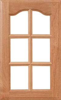 "Cardinal 3/4"" French Lite Door"
