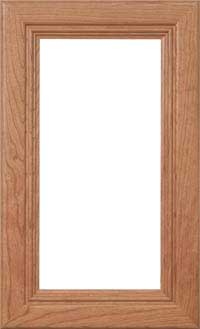 "Malibu 7/8"" Glass Door"