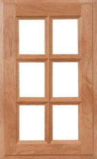 "Adobe 7/8"" French Lite Door"