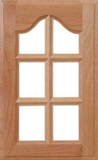 "Mission 7/8"" French Lite Door"