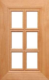 """Ponderosa 3/4"""" French Lite Door"""