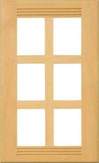 """Pueblo 3/4"""" French Lite Door"""