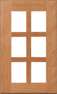 "Laredo 7/8"" French Lite Door"