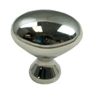 Polished Chrome Smooth Knob