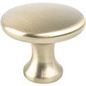 Round Knob Champagne Bronze