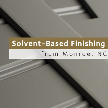 Solvent-Based Finishing