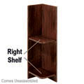"Knick Knack Right Shelf 3/4"" - 939"