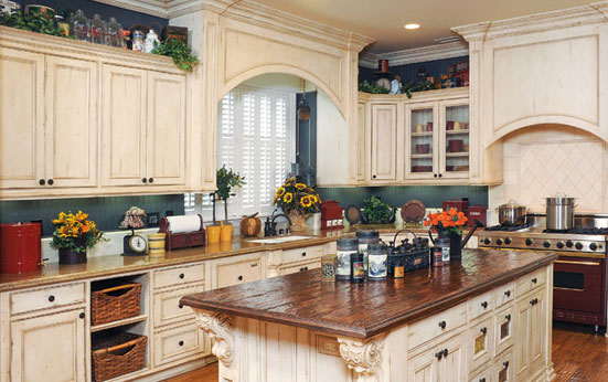 Laguna Painted Kitchen