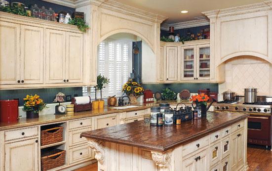 laguna painted kitchen - Decore