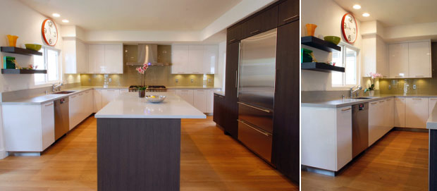 Perfectly Balanced Two-Tone Kitchen