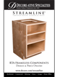 Streamline Cabinet Components Flyer
