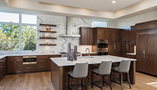 Clean and Sophisticated Walnut Kitchen - 10386