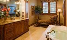 Malibu Bathroom in Rustic Knotty Alder - 10200