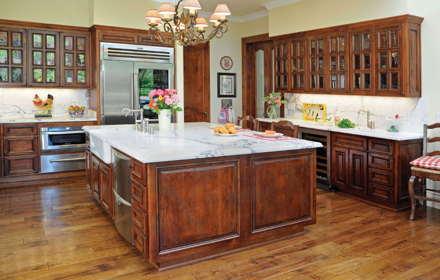 Bel Air Kitchen With French Lite Doors Gallery