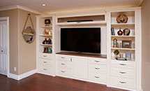 "Built-in JR7 3/4"" (727) Entertainment Center - 10320"