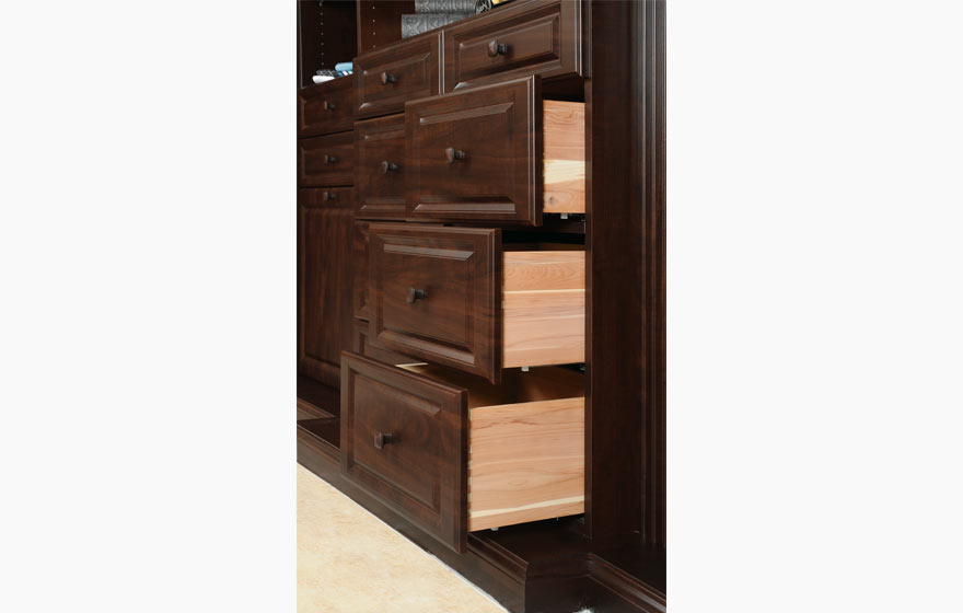 Ar766 3 4 766 closet rtf cabinet door gallery for Chocolate pear kitchen cabinets
