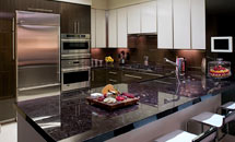High Gloss Wenge Kitchen - 10255