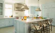 Light Blue Laguna Kitchen – 10273