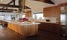 Walnut Veneer Kitchen - 10260