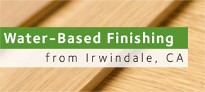 Water-Based Finishes