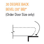 30 Degree Back Bevel (30 BB)