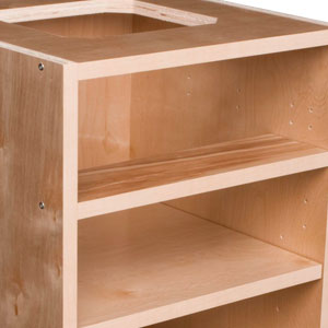 Streamline Cabinet Components