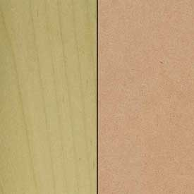 MDF Panel / Maple Paint Grade Frame